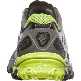 La Sportiva Bushido Running Shoes Men Carbon/Apple Green